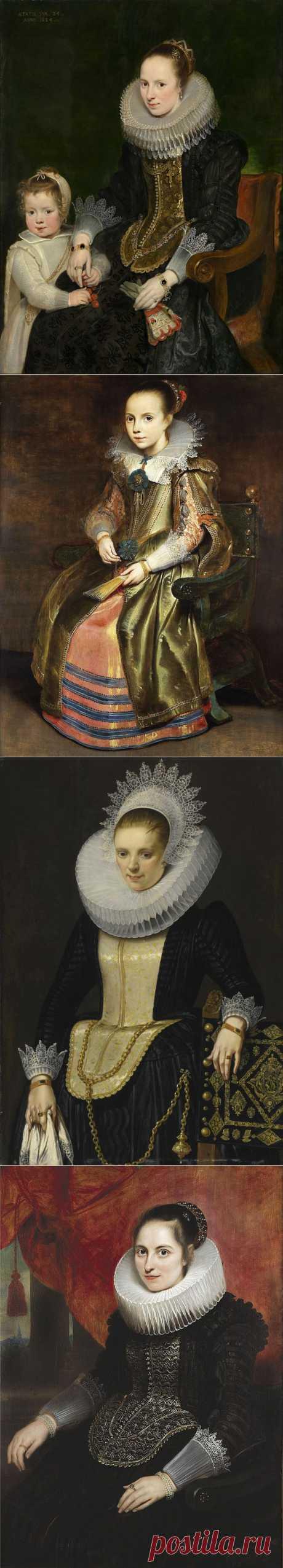 Фламандский художник-портретист Корнелис Де Вос (1584–1651)