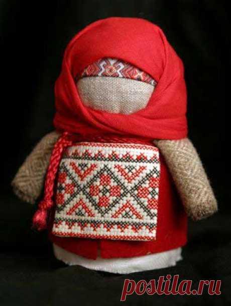 Крупеничка - народная тряпичная кукла-оберег - Поделки с детьми - Детство вместе