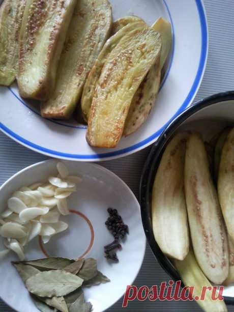 Вкусные маринованные баклажаны, вкуснятина невероятная