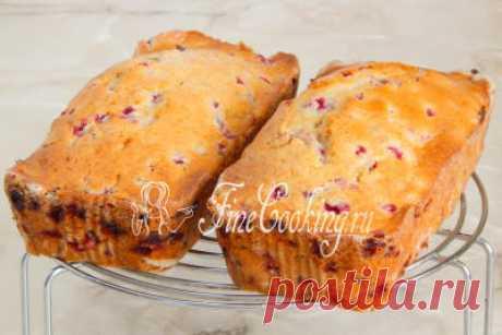 Замечательный кекс с красной смородиной | Четыре вкуса