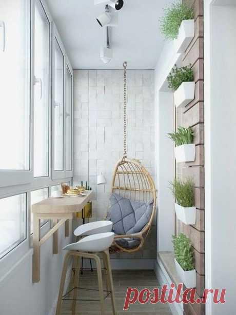 Превосходный балкончик. А Вам нравится?