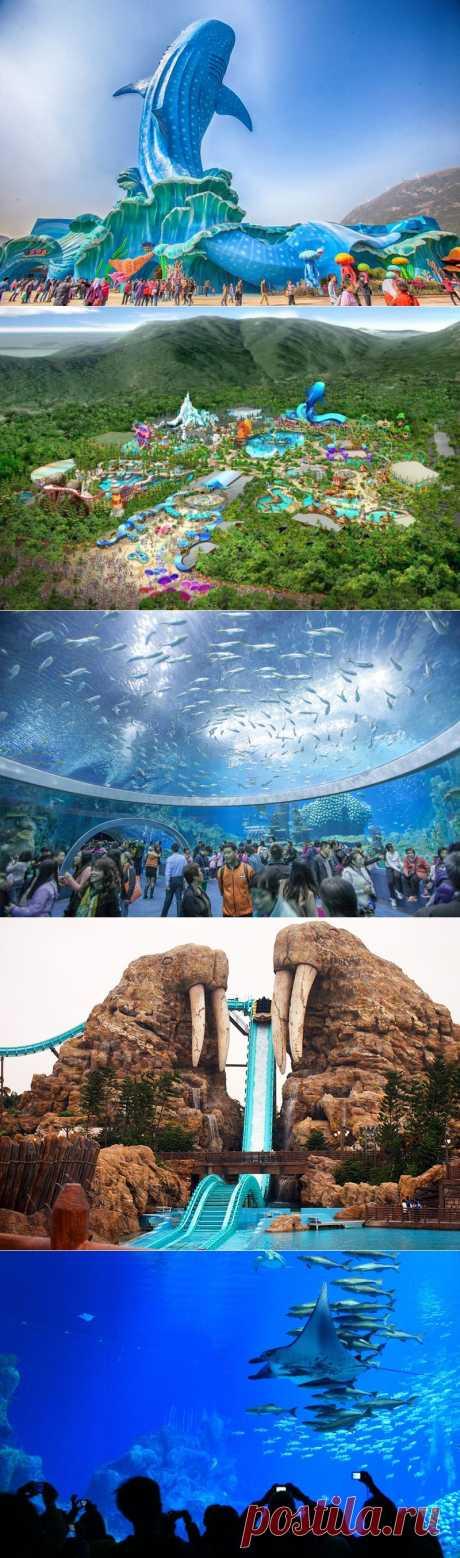 Chimelong Ocean Kingdom - самый большой океанариум в мире | В мире интересного