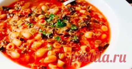 ВКУСНЯШКА!!! )Очень вкусное первое блюдо из Италии. А готовить проще простого!