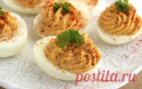7 рецептов начинки для фаршированных яиц