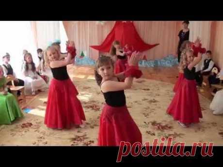 Детские танцы в детском саду - Хореографический ансамбль Вдохновение