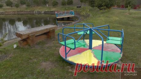 Обустроили детскую площадку в деревне | Хозяйство Воронова | Яндекс Дзен