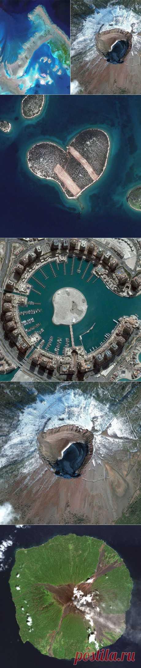Самые впечатляющие фотографии, сделанные со спутника | Фотография | Фотография