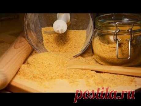 🍴Без них не обходится ни один кулинар! Готовлю ДОМАШНИЕ ПАНИРОВОЧНЫЕ СУХАРИ в духовке своими руками! Панировочные сухари – это прекрасный способ пpидать блюд...