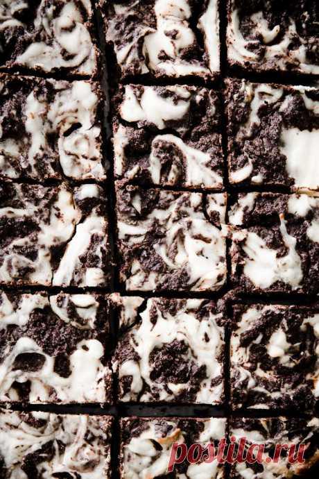Легкие, Fudgy пирожные с чизкейком из кето - без сахара Лондонер