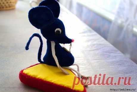 Мастер-класс  Мышка-норушка: символ 2020