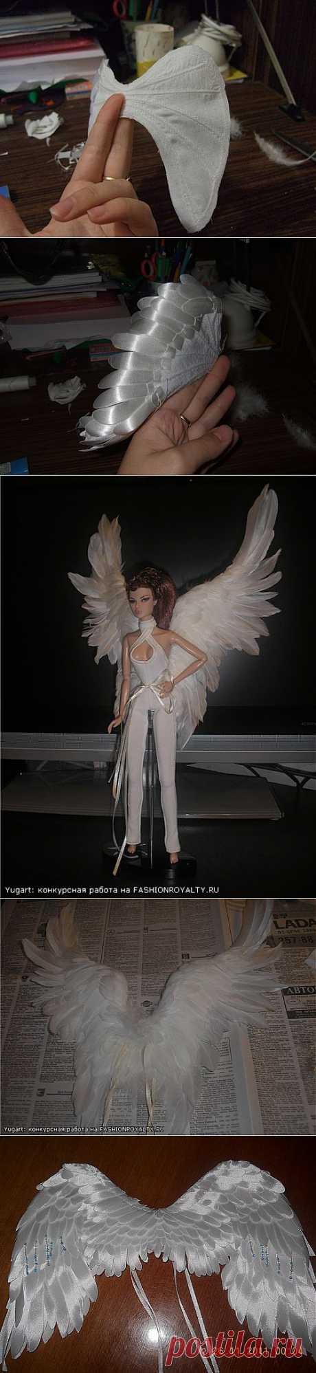 Форум о куклах на DollPlanet.ru • Просмотр темы - Ирма, Джулия: Крылья. Два мастер-класса
