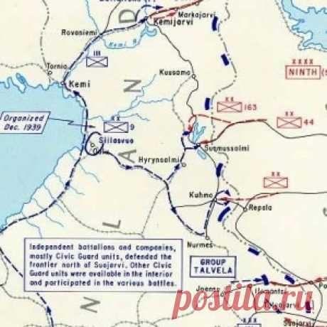 Советско-финская война - 12 марта был заключён мирный договор.