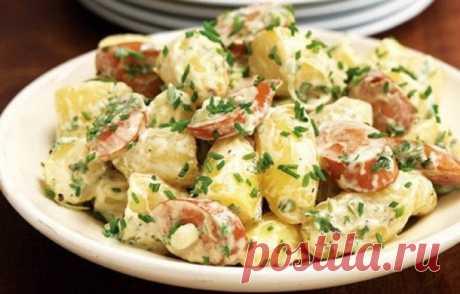 Салат «Картошечка»