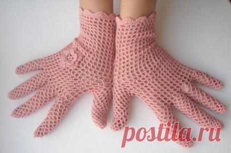 перчатки летние