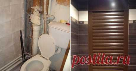 11 оригинальных способов спрятать канализационные трубы / Домоседы