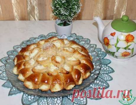 "Пирог ""Георгин"" – кулинарный рецепт"
