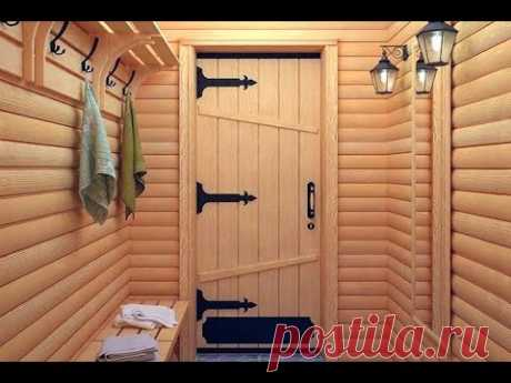 Doors for a bath. How to choose a door in a sweating room, a sauna, to boors …