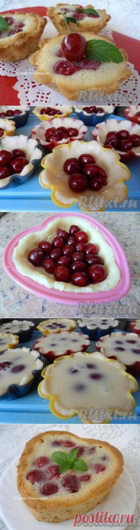Цветаевский пирог с вишней (рецепт с фото) | RUtxt.ru