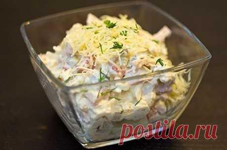 Очень нежный и вкусный салат «Русская красавица» — гости обожают! - Счастливый формат