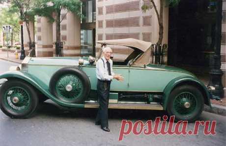 Британец Аллен Свифт на протяжении 82 лет управлял одним автомобилем. Это Rolls-Royce Picadilly P1 Roadster 1928 года выпуска, приобретенный для него его отцом…