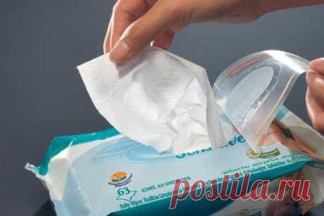 Как предотвратить высыхание влажных салфеток
