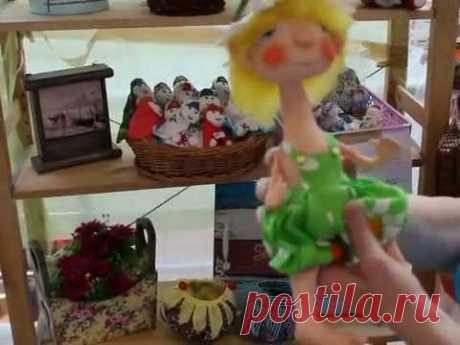 Ольга Геннадьевна - мастер текстильной куклы