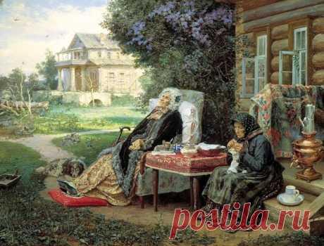Сцены деревенской жизни на Руси: художник Василий Максимов (1844 — 1911)