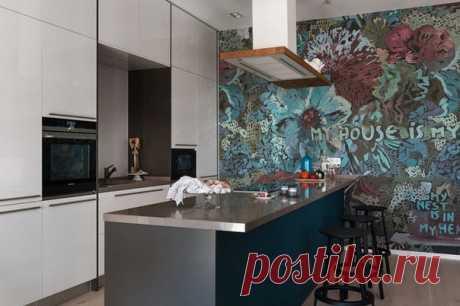 Дизайнерская квартира в Киеве от Intemporary Design Studio и Svoya studio