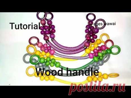 Tutorial handle mute kayu(wood handle)