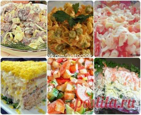 6 вкусных салатов