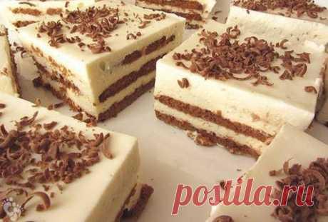 Первоклассный торт за 25 минут без выпечки! Я его делаю каждую неделю!