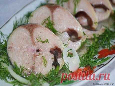 The mackerel does not concede in such marinade to taste to red fish