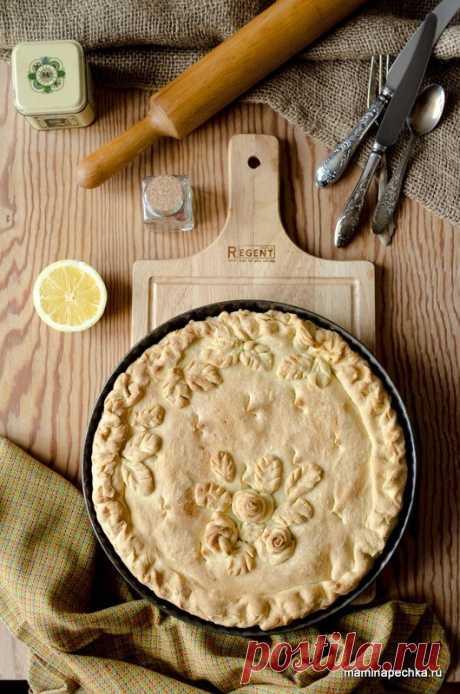 Лимонник • домашний рецепт. С фото! Добавить рецепт в избранное!Очень люблю тесто, из которого сделан этот пирог. По структуре оно песочное, но замешивается на дрожжах — быстро и просто. Проста и доступна начинка — лимон с …