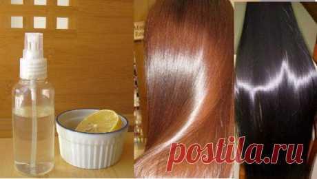 Распылите это на Ваши чистые волосы и они будут выглядеть глянцевыми и супер шелковистыми долгое время - interesno.win
