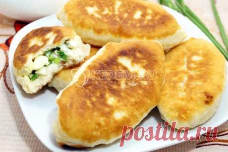 Быстрые пирожки с яйцом и зеленым луком – Рецепт с фото. Рецепты. Выпечка