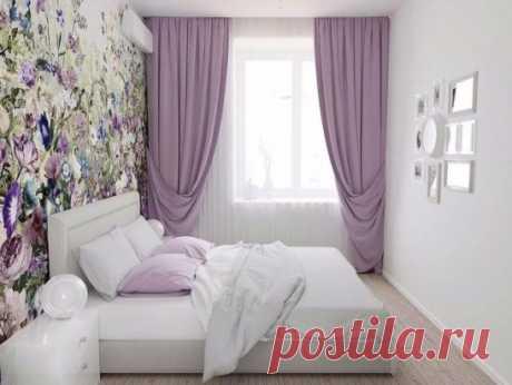 Красивая спальня.