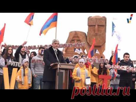 Նախընտրական քարոզարշավը մեկնարկված է. օր 1-ին. Վիտալի #Բալասանյան - YouTube