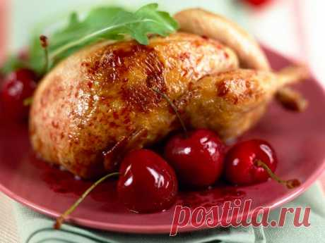 Цыпленок в вишневом маринаде: праздничный рецепт   Самые вкусные кулинарные рецепты