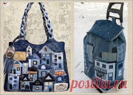 Новая жизнь старых джинсов - 30 идей великолепных сумок и рюкзаков для вашего вдохновения   МНЕ ИНТЕРЕСНО   Яндекс Дзен