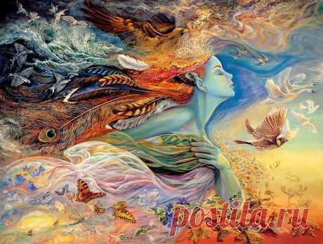 Что такое душа - это мягкий рассвет  Что такое душа - это солнечный свет  Что такое душа - это горечь и слезы  Что такое душа - это сладкие грезы  Кто - то, душу такую,  давно уже любит   Кто - то, душу такую, никак не забудет   Кто - то, изредка видеть счастьем считает   Кто - то, только о ней лишь мечтает   А душа, все летает, летает   А душа эта, все понимает   А душа, все любовь эту не принимает   А душа, все такую же, как и она, ожидает