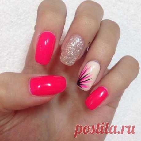 Cute Pink Nail Design 2018 new