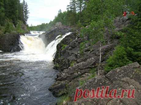 Водопад Кивач. Петрозаводск
