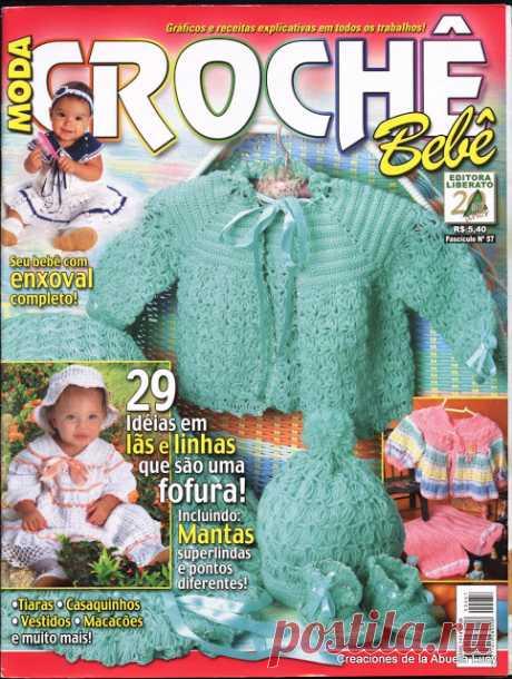 butterflycreaciones / fanaticadel tejido: Moda crochè bebè