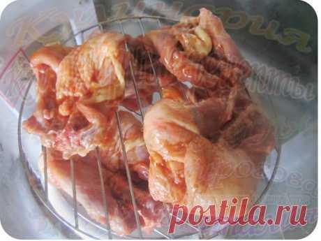 ¿Cómo preparar los respaldos las gallináceas en la marinada aerogril? | las recetas de cocina de la comida sabrosa