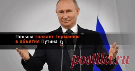 Польша толкает Германию в объятия Путина Польский МИД заявил о «безоговорочном» праве требовать от России репараций за ущерб, понесенный страной во время Второй мировой войны. В то же время в числе тех, кто должен «платить и каяться» перед Польшей, традиционно находится и Германия.