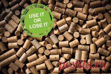 Фотоохота: 42 поделки из винных пробок Не выбрасывайте пробки! Из них можно сделать много красивых и нужных вещей
