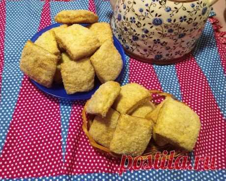 Нежное домашнее печенье на сметане. На приготовление трачу не более 5-10 минут, остальное делает духовка - Рецепты для дома