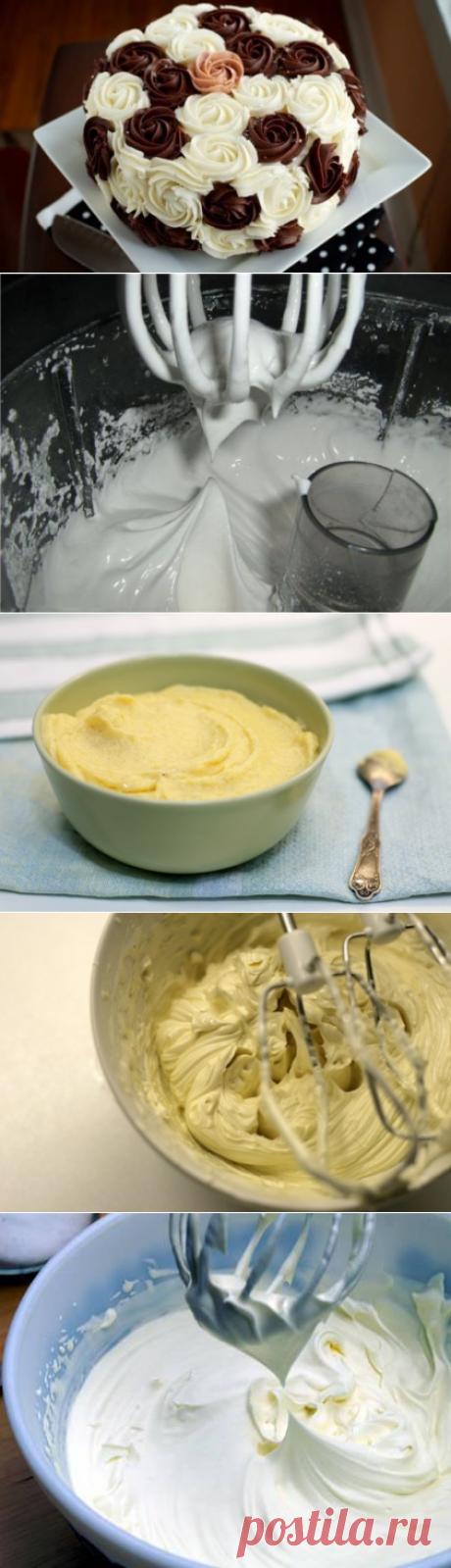 Украшение тортов: лучшие рецепты кремов ― Женский журнал WomanWay