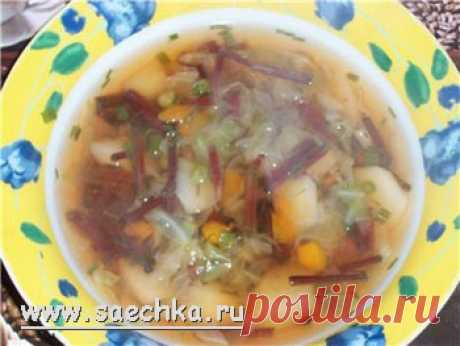 Vegetable soup - the recipe with a photo