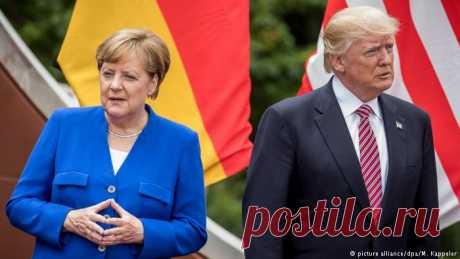 Меркель посоветовала США отказаться от ″национальных шор″ | Новости из Германии о Германии | DW | 29.05.2017